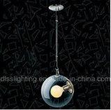 Moderner Entwurfs-rundes hängendes Glaslicht für verzieren mit Ce/UL