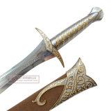 さや60cm/52cmが付いているThorinの剣の刺し傷の剣