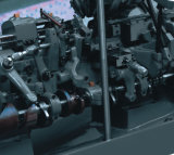 수평한 유형 세륨 Appoved를 가진 CNC 자동적인 정밀도 포탑 선반 아닙니다