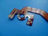 Cobre pesado de FPC PWB flexível de 2 onças com Soldermask amarelo