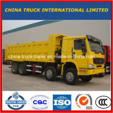 8X4 12 Vrachtwagen van de Stortplaats van Wielen HOWO de Op zwaar werk berekende