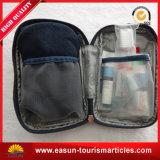 Le nylon transparent de la première classe met en sac le sac de produit de beauté de logo de ligne aérienne