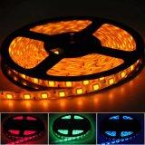 Lumières de bande flexibles imperméables à l'eau de RVB SMD5050 DEL pour la décoration du marché/hôtel/système