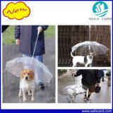 Novo trela de PET transparente à prova de cão de guarda-chuva Rainday guarda-chuva