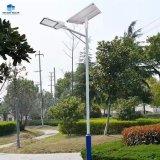 De Straatlantaarn van Zonne van de Lamp van de verrukking DE-Al05 Ingebouwde batterijkabels van het Lithium