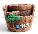 OEM-декоративные фарфоровые керамические сад Flowerpot