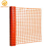 Kundenspezifische Größen-orange Plastiksicherheitsschranke-Zaun