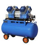 compresor de aire sin aceite de alta presión de 440L/Min 10bar Oilless con el tanque del aire