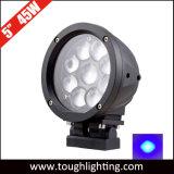12V 24V de alta potencia de 5 pulgadas de mesas elevadoras mancha azul LED luces de seguridad