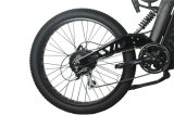 二重中断フォークが付いている1000W強力な山の電気バイク