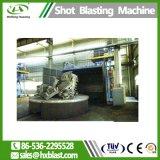 Macchina standard di pulizia di granigliatura del carrello della piattaforma girevole di alta qualità