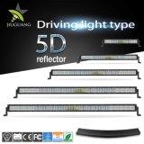 500W Super brillante Resistente al agua IP68 5D de doble fila de 52 pulgada curvado de la barra de luz LED para Jeep Offroad