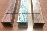 Profils en bois de Pultruded de tube de texture de FRP