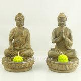 Sostenedor de vela usado fabricante de China Buddha con alta calidad