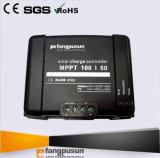 # contrôleur solaire noir orange bleu de l'écran LCD MPPT 50A de cas de Fangpusun pour le chargeur de batterie évalué de tension de 12V 24V