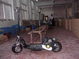 Скутер газа (HDGS08)