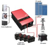 <Must>Venta caliente 8kw DC48V AC230V fuera de la red inversor solar construido en un 60 MPPT Controlador de carga solar