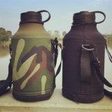 bouteille hydraulique de flacon de bière de sport de vide de l'acier inoxydable 64oz