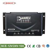 regolatore solare della carica del motore di CC della spazzola di 12V/24V PWM