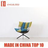 거실 의자를 위한 편한 높이 작풍 뒤 안락 의자