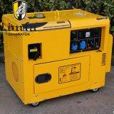 5kVA 6kVA 7kVA 8kVA 침묵하는 방음 전기 가솔린 발전기 세트