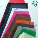 Tissu non-tissé réutilisable coloré de pp Spunbond pour la fabrication de sacs