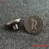 Fabricante Custom Gravar nome 3D cobre antigo logotipo Inserir Latão Metal Jeans Denim Botões rebite