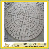 Granito di G654/G603/G684/G682/Grey/Black/Red/Yellow/basalto/blocco/ciottolo/cubo/bandierina/bordo/paracarro/figura naturale ventilatore/dei ciechi/pietra per lastricati per l'abbellimento/giardino