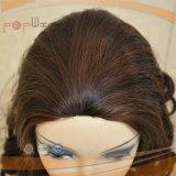 Peluca judía respirable de la caída del pelo humano del casquillo (PPG-l-0725)