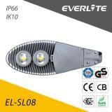 Qualität IP65 imprägniern PFEILER 100W LED Solarstraßenlaterne