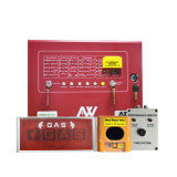 Extintor multíple del sistema de supresión del gas FM200