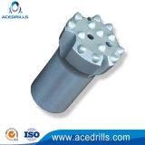 Herramientas de perforación de carburo de tungsteno T45 Botón roscado Brocas de minería de roca