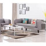Sofá da tela com a mesa de centro para o assento da sala de visitas