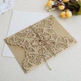 Los sellos sobres impresión personalizada de la Tarjeta de Invitación de boda