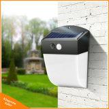 Novo Design LED Solar Luz de parede exterior para o jardim do pátio da família Luz Solar