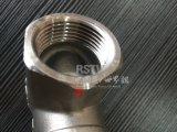 En acier inoxydable moulé à filetage femelle à valve de roue à main Globe