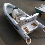 Ce rigide gonflable de bateau de Hypalon de bateau de côte de Liya 6.6meter/22feet grand