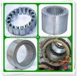 Слоение ротора статора асинхронного двигателя с материалом листа кремния