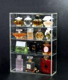L'acrylique parfum cosmétique Vitrine d'affichage