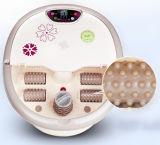 Aplicación del pie y masaje mm-516 del baño del pie de las características del masaje