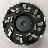 roues de meulage de cuvette de diamant de segment de 180mm Z pour l'étage en béton