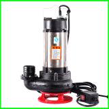 Pompa per acque luride sommergibile verticale del ghisa