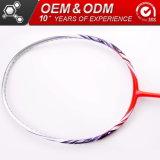 OEM van de Goederen van de Koolstof van de Vorm van 675mm de Vierkante HoofdISO Sportieve Racket van het Badminton