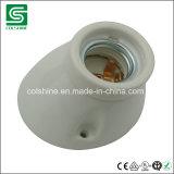 Cer SAA verzeichnete keramischen Montierungs-Lampen-Birnen-Halter der Wand-E27, geneigten Porzellan-Lampenhalter