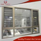 Het Openslaand raam van het Aluminium G&F Jinfu met het Scherm van de Vlieg