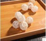Fleur personnalisé Reed diffuseur boule en rotin