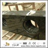 Vanità materiale della stanza da bagno del granito di verde della farfalla della Cina della stanza da bagno