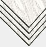Material de construcción de revestimiento de aluminio compuesto de aluminio láminas de plástico