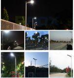 Lo stile 100W di C registrabile ha integrato tutti in un indicatore luminoso di via solare del LED, l'indicatore luminoso di via di energia solare, tutto in un indicatore luminoso solare 100W
