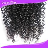 Extensão Kinky Mongolian 100% não processada elegante exótica do cabelo Curly